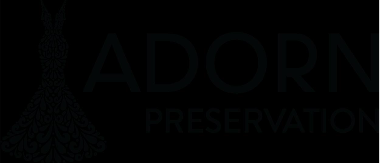 Adorn Preservation Logo Horizontal White